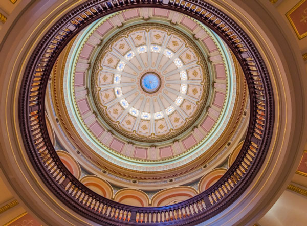 Picture of the California State Capitol Dome