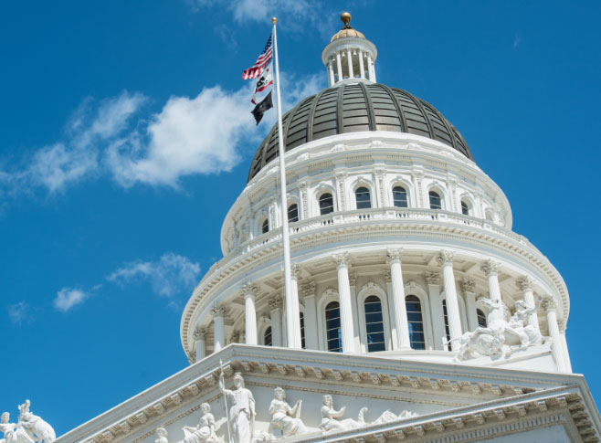 Picture of the California State Capitol
