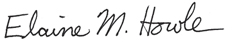Signature of State Auditor
